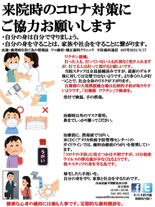 ワコ歯科・矯正歯科 予防通信