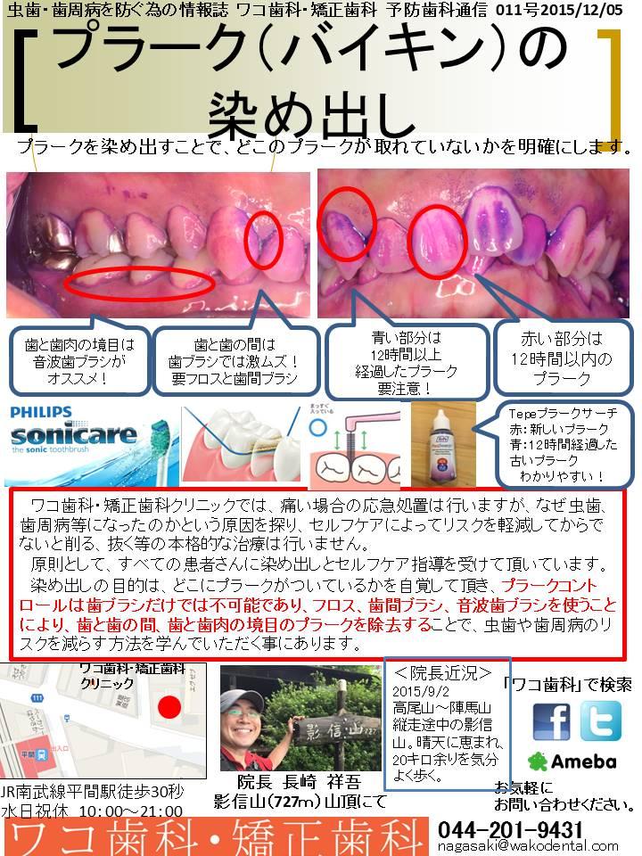 予防歯科通信2015年12月05日号