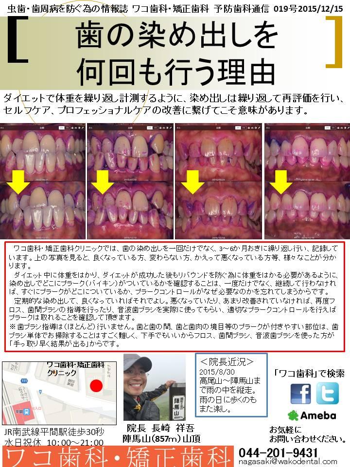 予防歯科通信2015年12月15日号